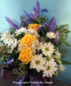 iris chryssie table arrangement_bg