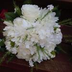 white on white bride